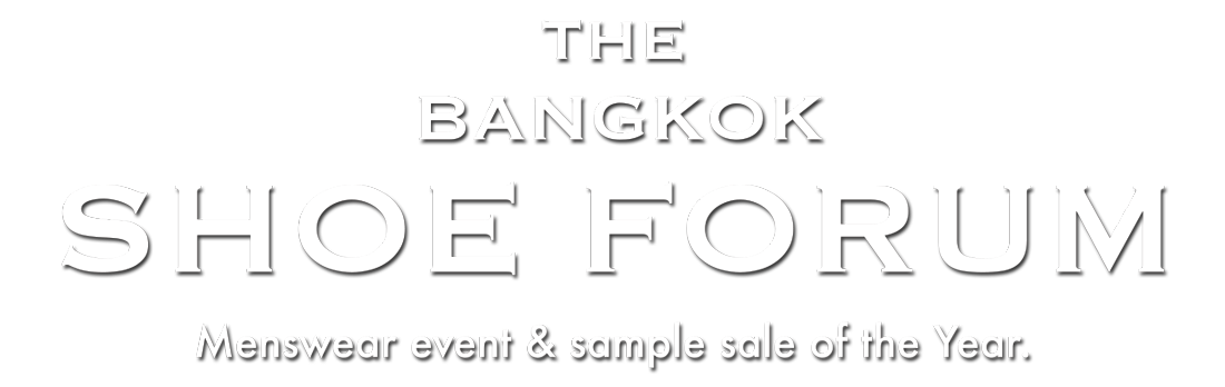 The Bangkok Shoe Forum Title